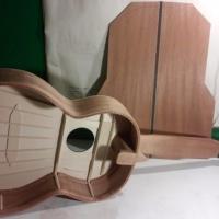 håndlaget gitar konstruksjon, torres fan bracing system