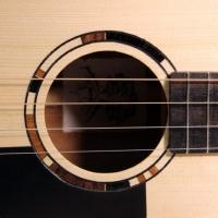 håndlaget ukulele rosette intarsia